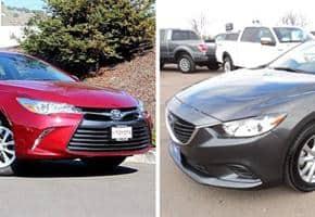 """Mazda 6 và Camry: """"Tân Binh"""" Đấu """"Độc Cô Cầu Bại"""" 1"""