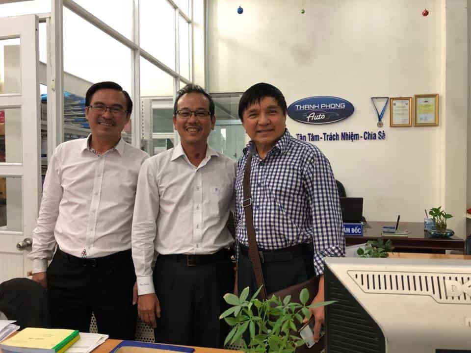 Welcom nghệ sĩ showbiz ghé thăm Thanh Phong auto. 1