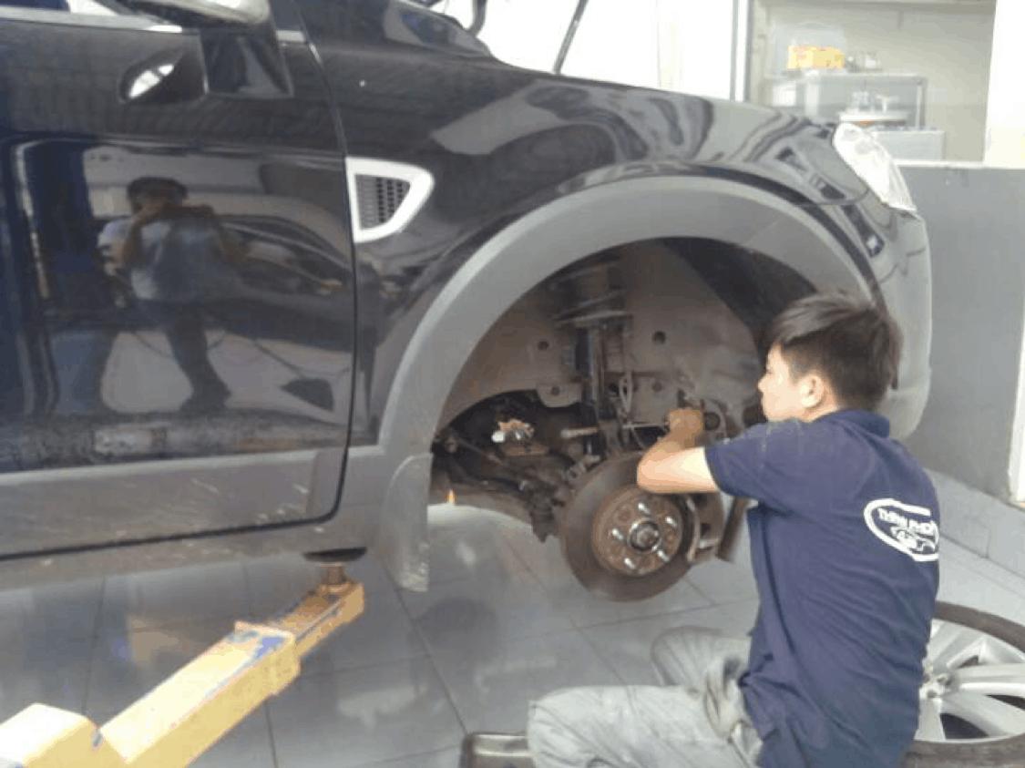 Dịch Vụ Vệ Sinh Hệ Thống Phanh Thắng 19 Thanh Phong Auto HCM