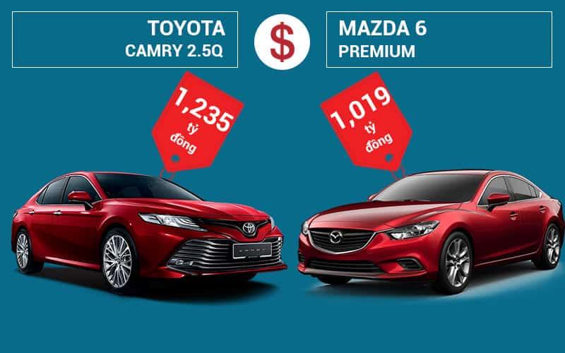 """Mazda 6 và Camry: """"Tân Binh"""" Đấu """"Độc Cô Cầu Bại"""" 2"""