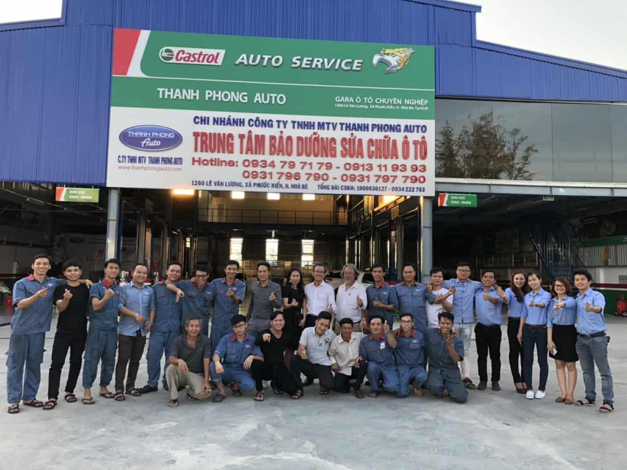 Gara chuyên sửa chữa và bảo trì xe ô tô tại TPHCM