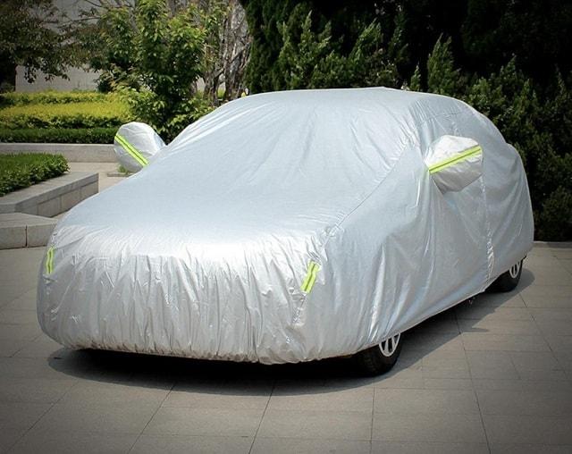 5 lưu ý khi dùng áo trùm, bạt phủ, tấm che nắng xe ô tô 1