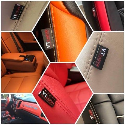Nên chọn màu sắc áo ghế cho hài hòa với nội thất bên trong xe