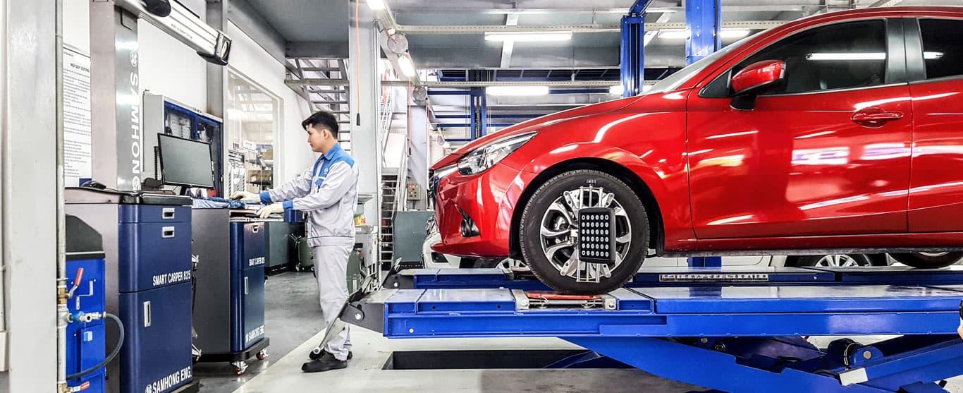 Các vấn đề bạn cần lưu ý khi sửa chữa xe oto gặp tai nạn