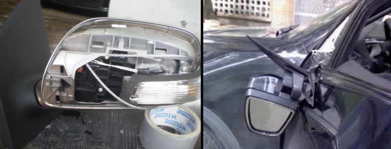 2 lưu ý khi sửa kính / gương chiếu hậu xe ôtô 1