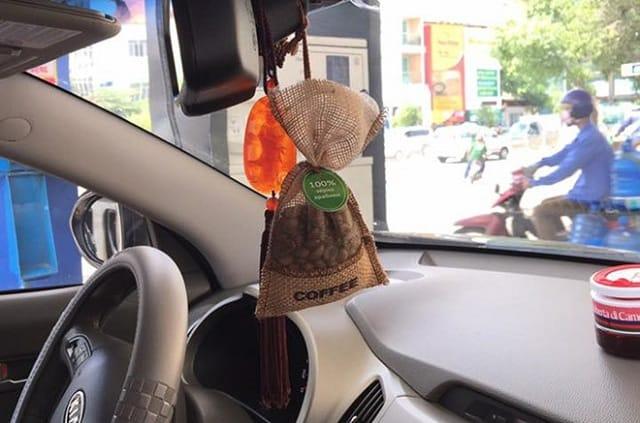 Hương café giúp xe bạn được khử mùi hôi hiệu quả