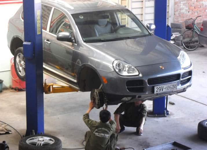 Một số lưu ý bạn không nên bỏ qua khi đồng sơn xe ô tô