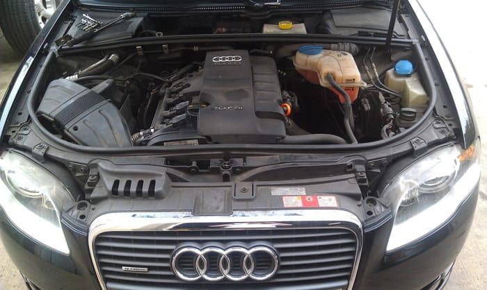 Gầm xe ô tô Audi sẽ khó tránh khỏi hư hỏng khi lâu ngày tiếp xúc với bùn đất