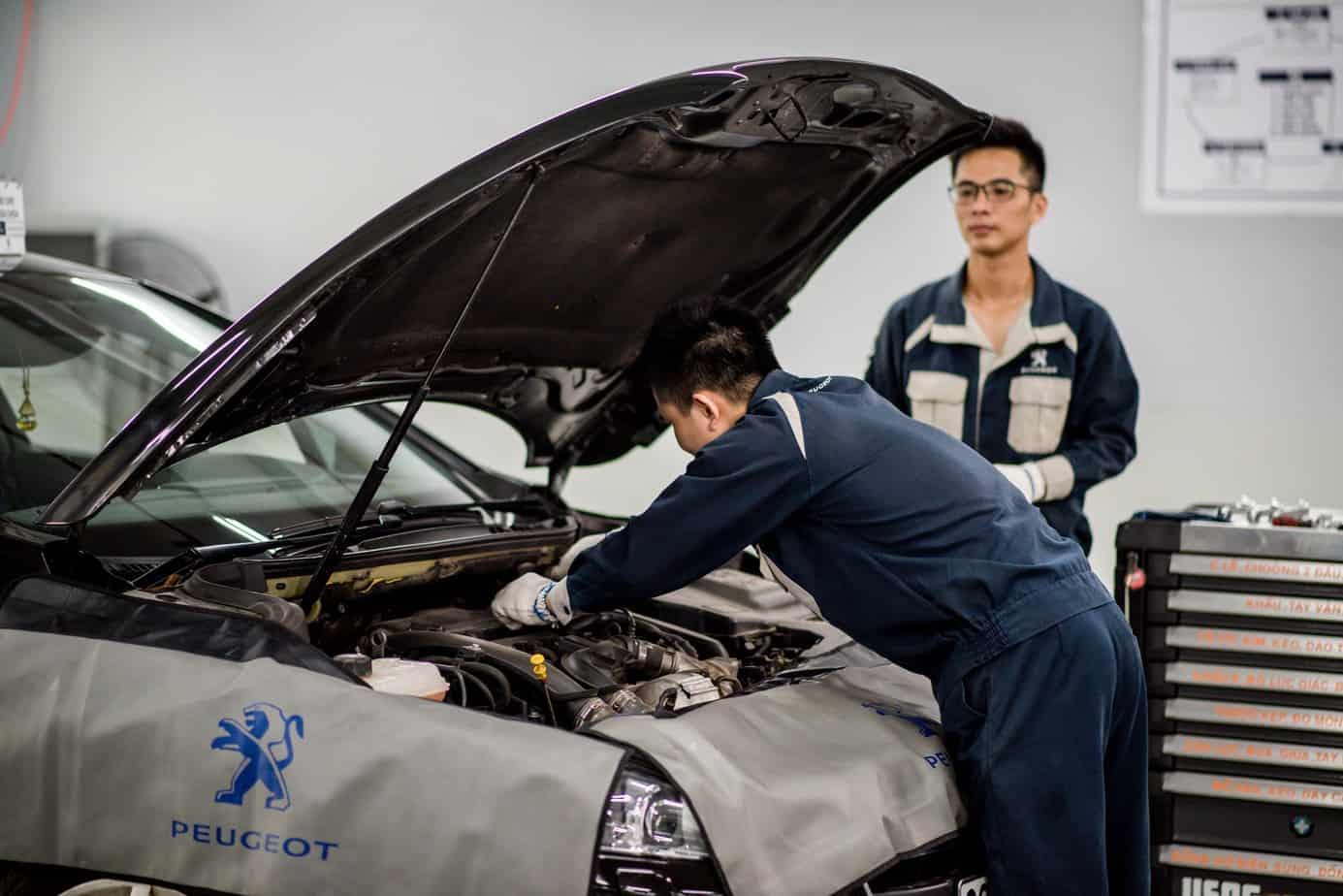 Những lưu ý bạn nên biết khi có nhu cầu sửa chữa, bảo dưỡng xe ô tô Peugeot