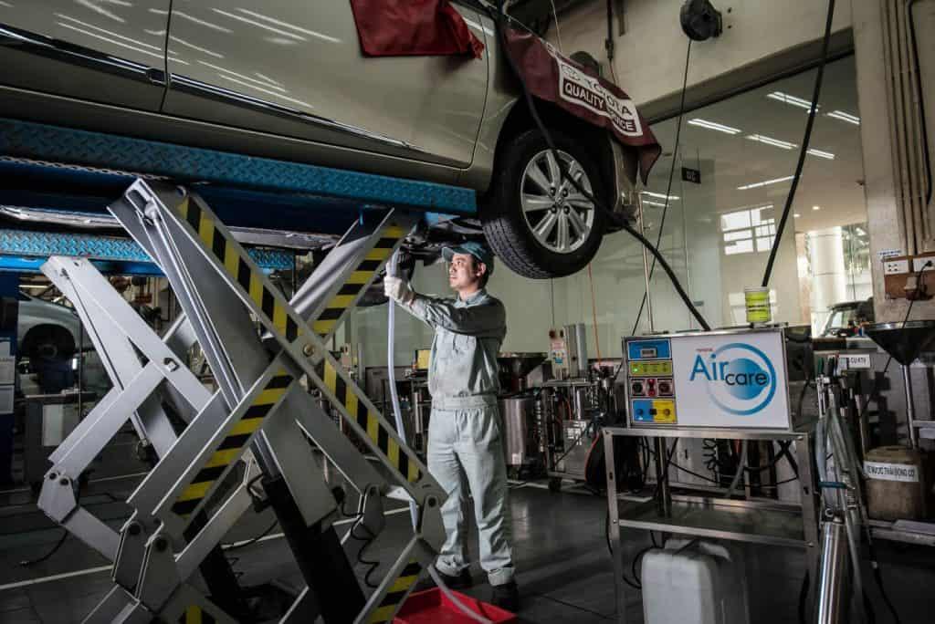 4 trường hợp nên sửa chữa, bảo dưỡng xe ô tô Toyota 1