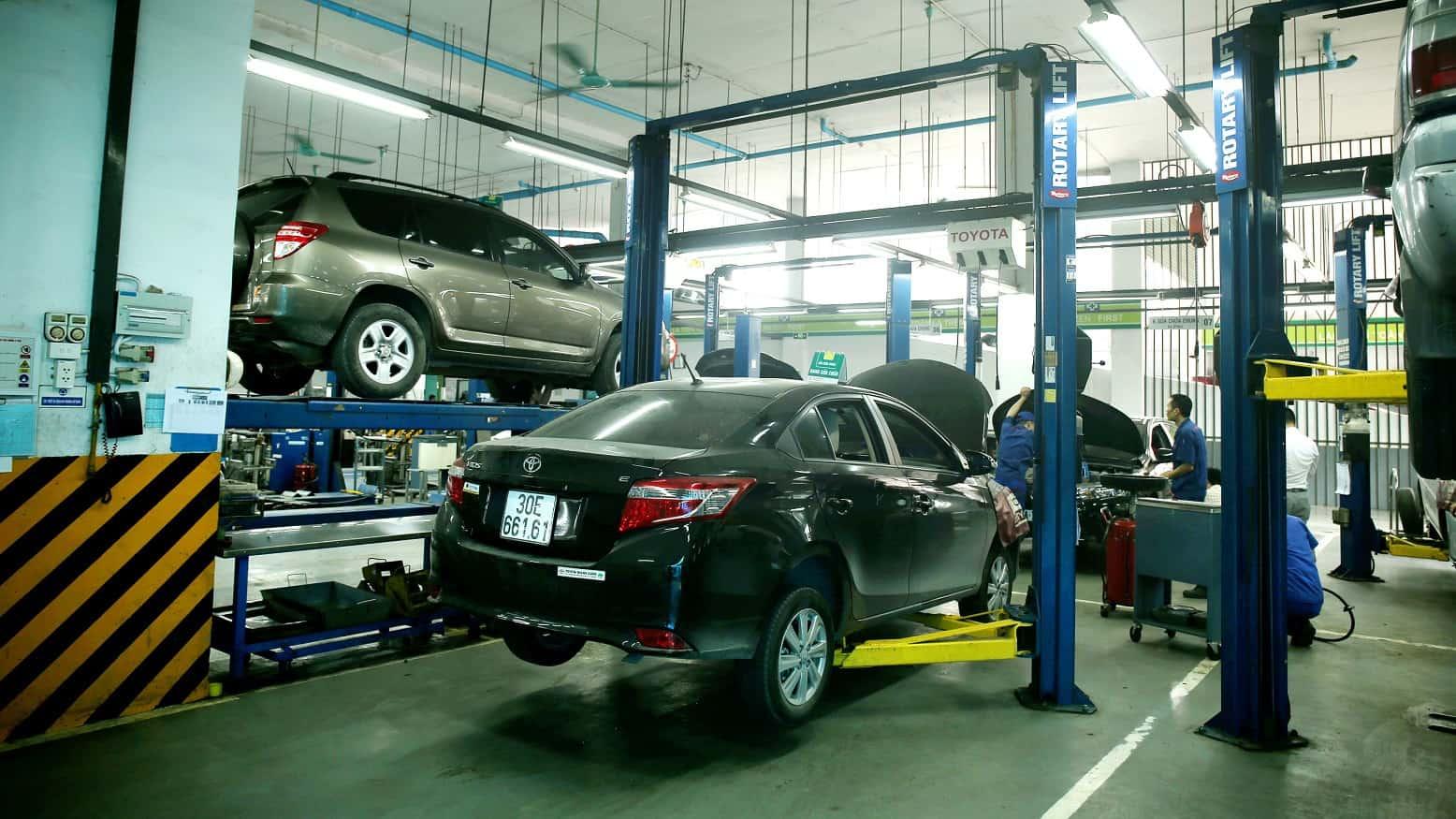 Dòng xe ô tô Toyota chinh phục mọi người bởi động cơ siêu bền và thiết kế nội thất bên trong xe hiện đại