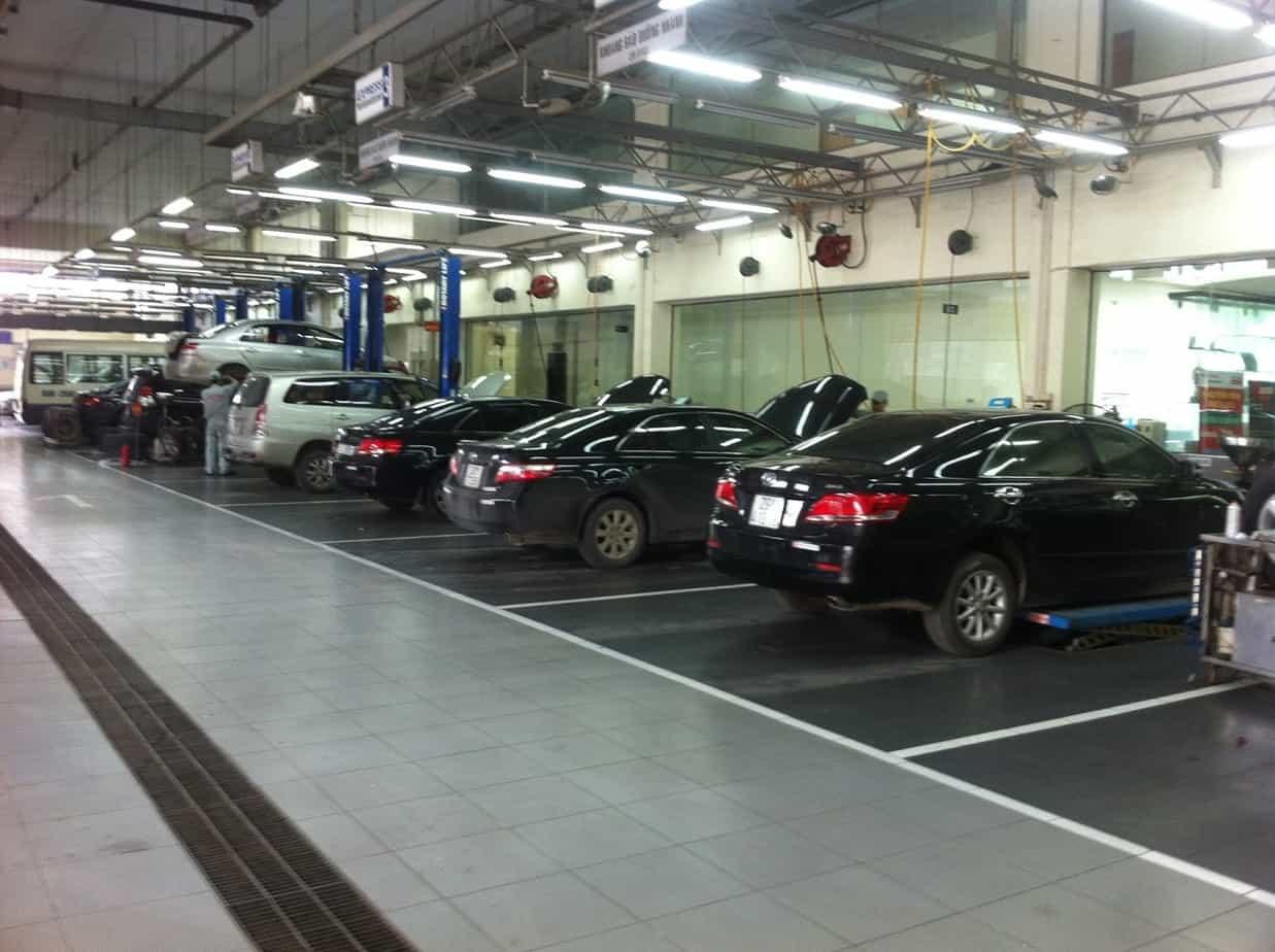 Sửa chữa xe ô tô Toyota khi hệ thống truyền động bị hư hỏng