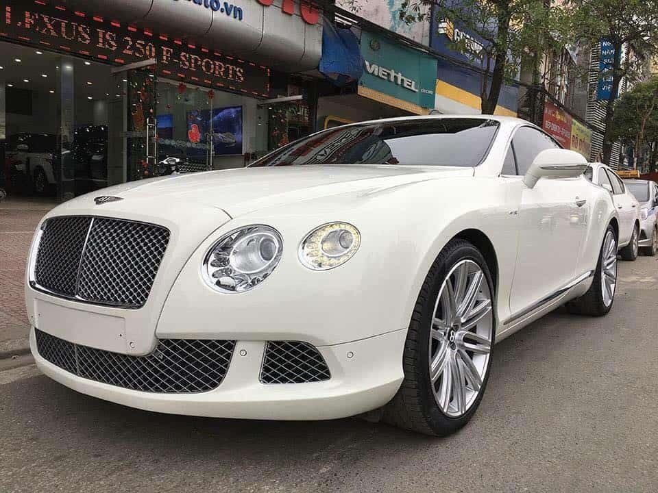Nhu cầu sửa chữa, bảo dưỡng xe ôtô Bentley ở nước ta ngày càng tăng
