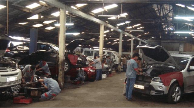 Dịch vụ sửa chữa đa dạng trên từng lỗi kỹ thuật tại trung tâm sửa chữa xe ô tô uy tín
