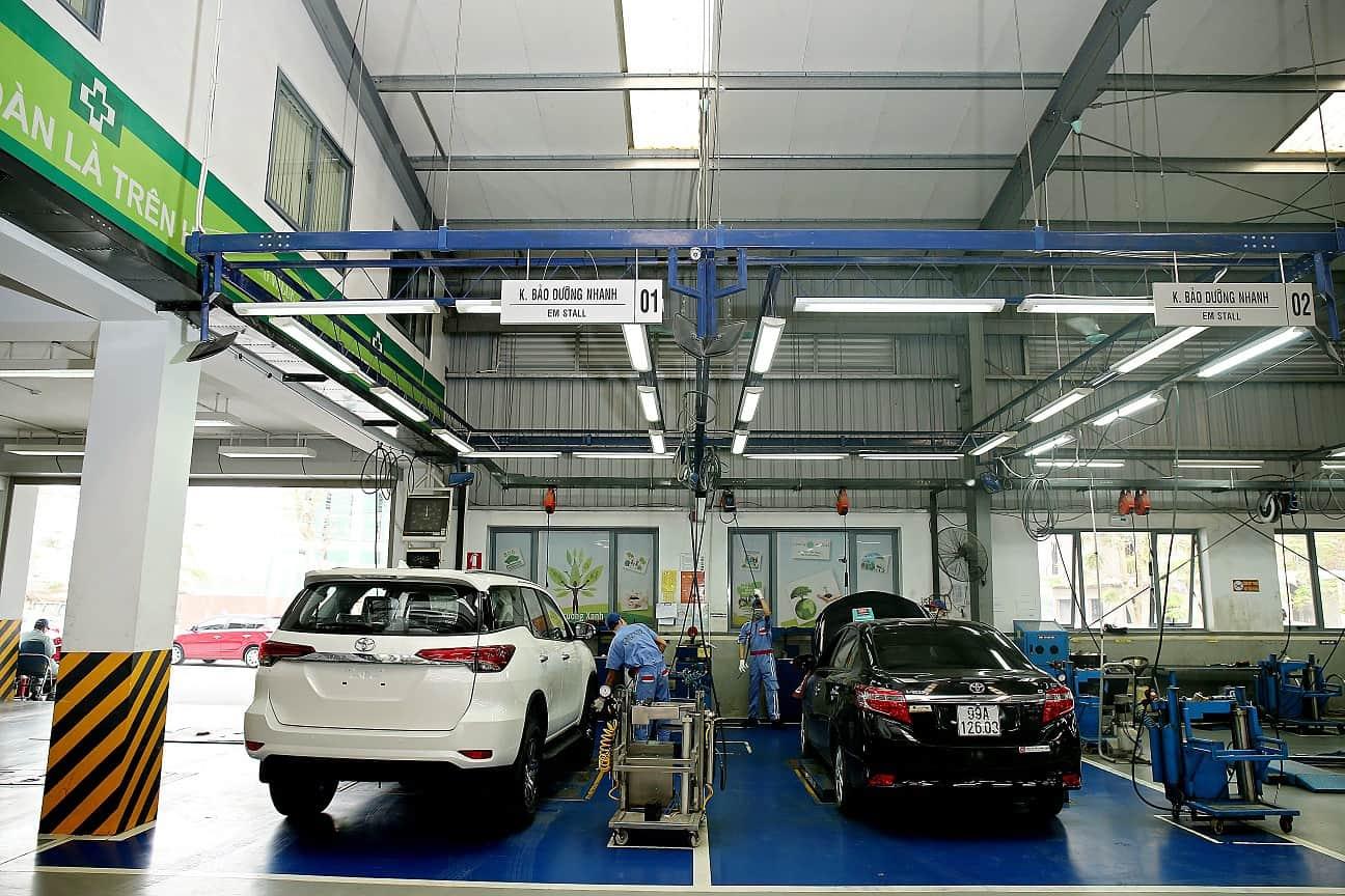 Chất lượng dịch vụ sửa chữa xe ô tô Fortuner rất đảm bảo