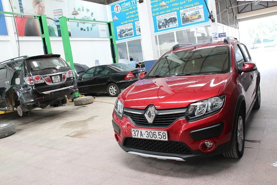 Động cơ xe xe ô tô Renault làm việc không ổn định thì bạn cần phải đưa chúng tới garage uy tín