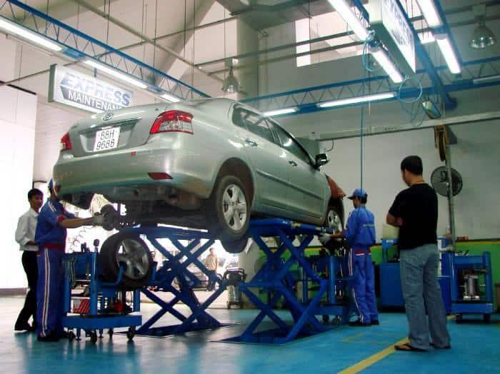 Bí quyết chọn trung tâm sửa chữa, bảo dưỡng xe ô tô Vios chuyên nghiệp