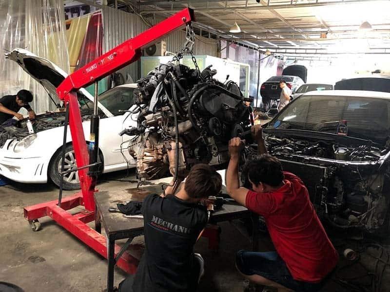 Sửa chữa và bảo dưỡng xe Mercedes đúng nơi uy tín chất lượng bền lâu