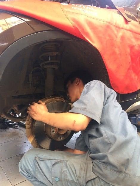 Giáo trình bảo dưỡng và sửa chữa hệ thống lái ô tô