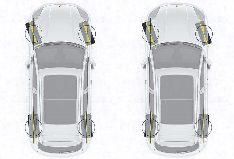 Hệ thống lái trên ô tô - thiết bị kiểm tra đèn pha ô tô