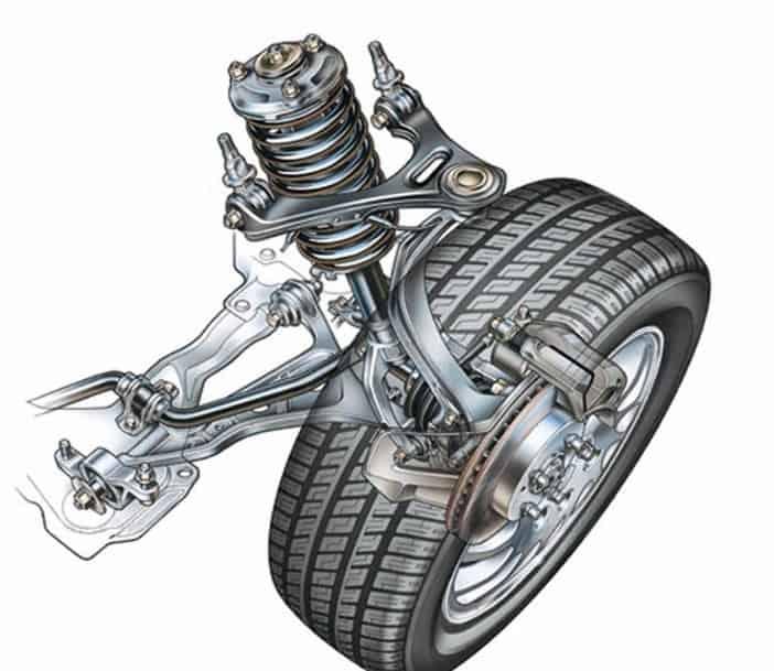 Hệ thống treo trên ô tô là gì? Loại hệ thống treo