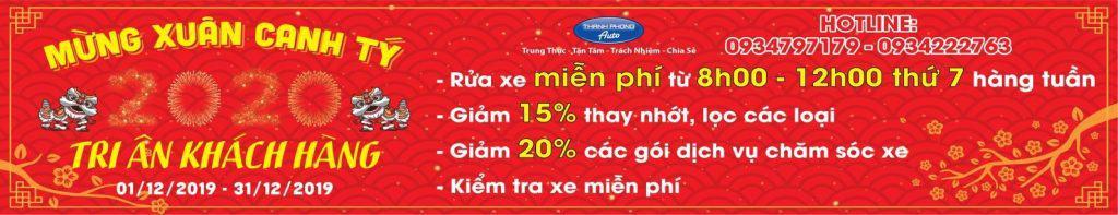 Thanh Phong Auto Tri Ân Khách Hàng Mừng Xuân Canh Tý 2020 1