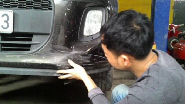 Hàn – gò nắn chỉnh ba đờ sốc ô tô là hạng mục phổ biến mà chủ xe ô tô cần thực hiện