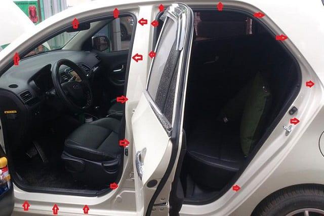 5 Lưu ý khi chọn gioăng cánh cửa ô tô – cách âm chống ồn, chống va đập 1