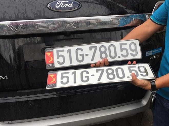 Phục hồi biển số xe là một trong những phương án xe được nhiều người lựa chọn