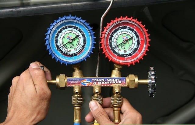 5 lưu ý khi nạp ga điều hòa ô tô - bơm sạc ga máy lạnh xe hơi 1