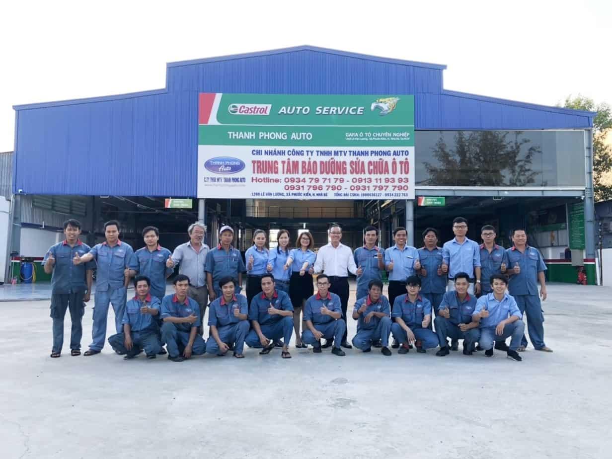 Covid 19 - Miễn phí khử trùng, diệt khuẩn toàn bộ xe ô tô tại Garage Thanh Phong Auto 6