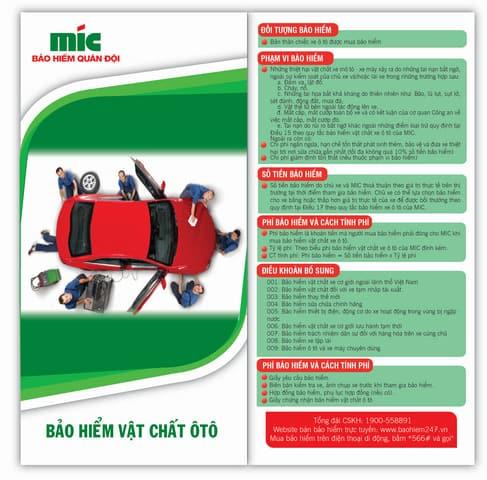 Bảo hiểm vật chất ô tô Mic đang được nhiều khách hàng lựa chọn