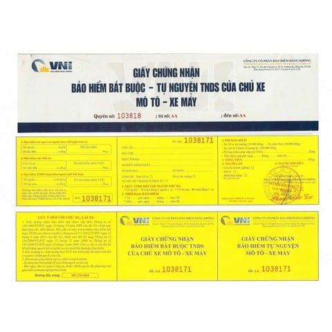 VNI cung cấp nhiều loại bảo hiểm bắt buộc và tự nguyện cho ô tô