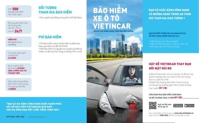 Top 5 thông tin cần biết về bảo hiểm ô tô Vietinbank VietinCar 14