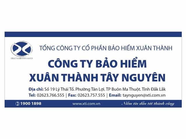 Bảo hiểm ô tô Xuân Thành đã có mặt trên nhiều tỉnh thành khắp cả nước