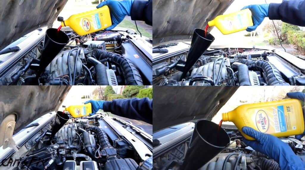 4 Reasons To Confirm The Automatic Transmission Oil Washing is Very Important 4 Thanh Phong Auto HCM