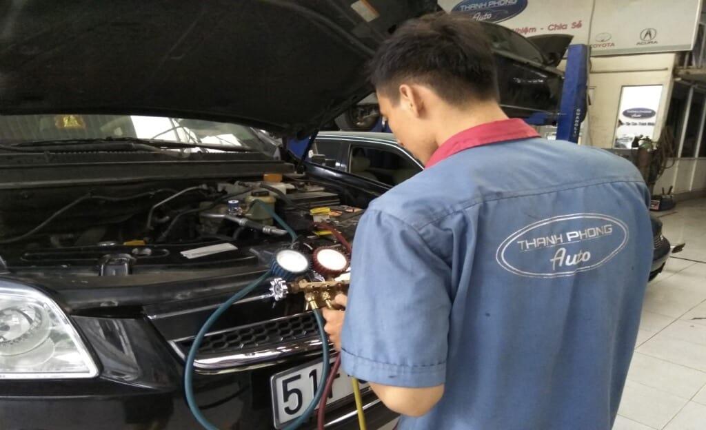 Giới Thiệu Dịch Vụ Sửa Chữa - Bảo Dưỡng - Chăm Sóc Xe Oto Thanh Phong Auto 4