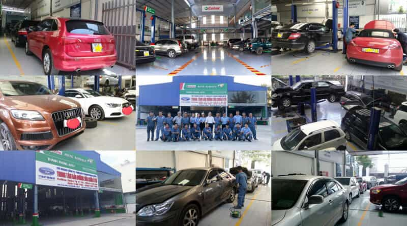 Giới Thiệu Dịch Vụ Sửa Chữa - Bảo Dưỡng - Chăm Sóc Xe Oto Thanh Phong Auto 1