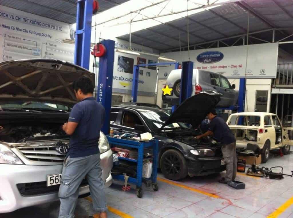 Giới Thiệu Dịch Vụ Sửa Chữa - Bảo Dưỡng - Chăm Sóc Xe Oto Thanh Phong Auto 5