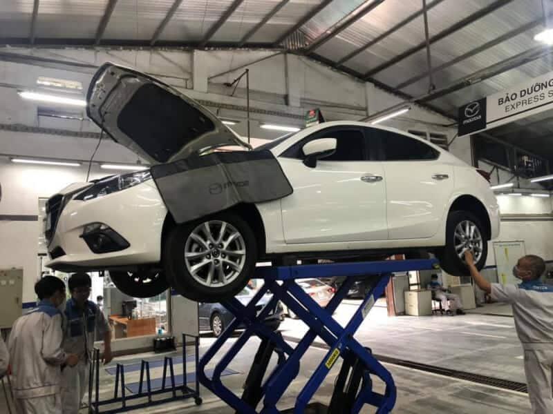 Lưu ý Khi Sửa Chữa Bảo Dưỡng Xe ô tô Mazda 4