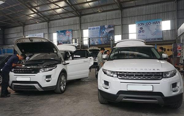 Lưu ý Sửa Chữa Bảo Sưỡng Xe ô tô Range Rover 4 Thanh Phong Auto HCM
