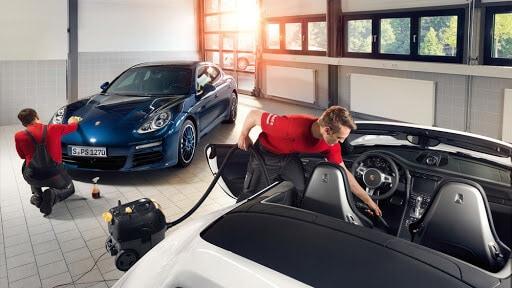 lưu ý khi bảo dưỡng, sửa chữa xe ô tô porsche