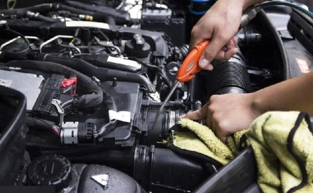 Note Repairing Car Mini Cooper 5 Thanh Phong Auto HCM