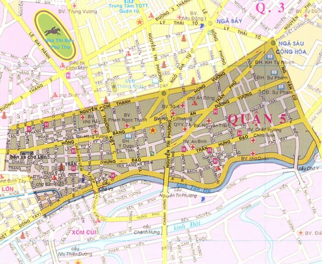 List of Parking lots - Car Parking in District 5 1 Thanh Phong Auto HCM