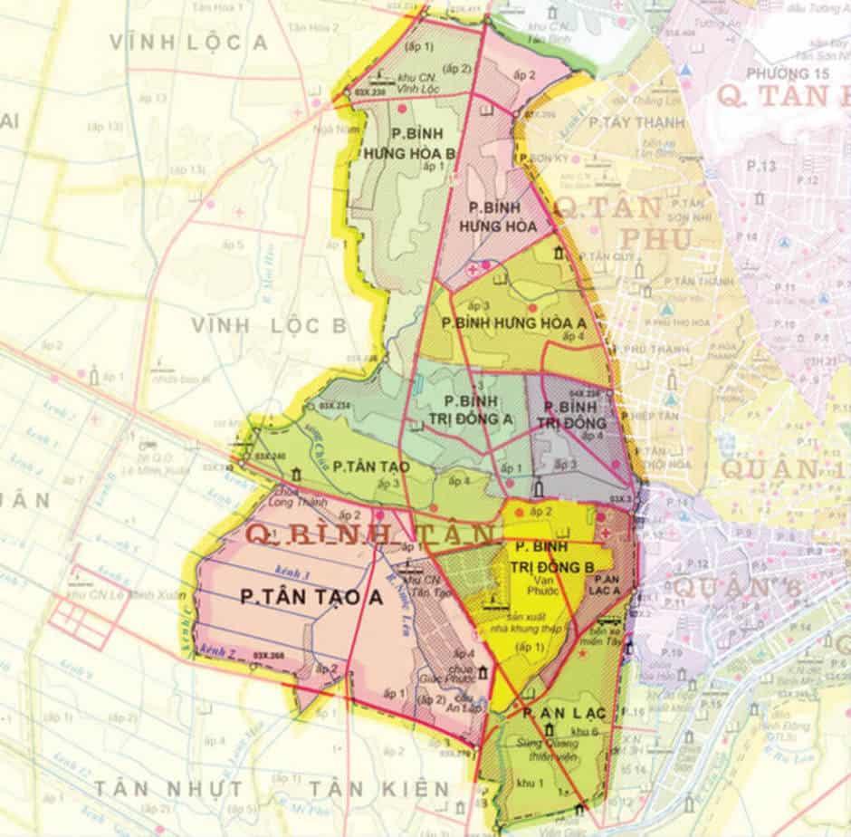Tổng Hợp Danh Sách Bãi Giữ Xe/ Đậu Xe Ô Tô Ở Quận Bình Tân 29