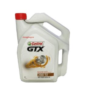 Castrol GTX 20W-50 engine oil 1 Thanh Phong Auto HCM