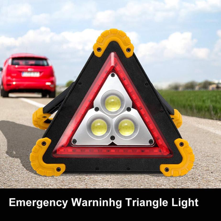 Warning Triangle Sign Danger Lights For Cars
