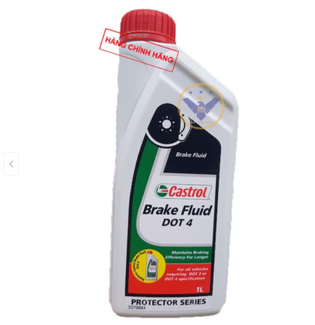 Dầu phanh, dầu thắng xe ô tô cao cấp Castrol brake Fluid Dot 4 Lon 1L - DPDOT4 13 Thanh Phong Auto HCM