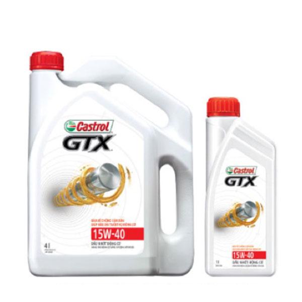 Quotation of engine oil CASTROL GTX 15W40