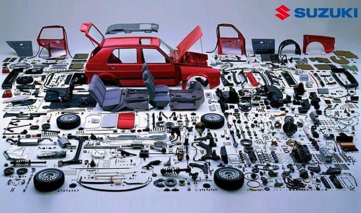 Bảng Báo Giá Phụ Tùng Xe Suzuki Mới Nhất 9 Thanh Phong Auto HCM